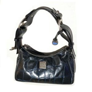 Vintage Dooney Croc Leather Hobo